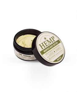 cbd-oil-hemp-whipped-body-butter-opened-with-lid-from-endoca-com